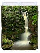 Pennsylvania Adams Falls Duvet Cover