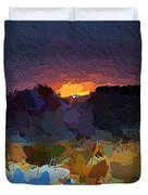 African Colours Duvet Cover