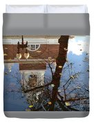 After The Rain In Boston Duvet Cover