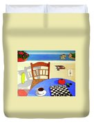 Afternoon Distractions Duvet Cover