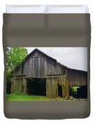 Aged Wood Barn Series Duvet Cover