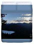 Agnes Lake Montana Duvet Cover