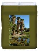 Agua Caliente Park Duvet Cover