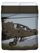 Ah-64d Apache Longbow Lifts Duvet Cover