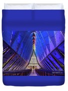 Air Force Academy Cadet Chapel Duvet Cover