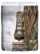 Alabama Theater Duvet Cover
