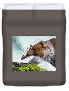 Alaska Brown Bear Duvet Cover