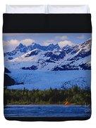 Alaska, Inside Passage Duvet Cover