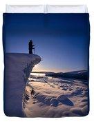 Alaska, Juneau Duvet Cover