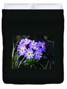 Alaskan Wild Flowers Duvet Cover