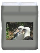 Albatross Lovers Duvet Cover