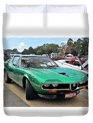 Alfa Romeo Montreal Duvet Cover