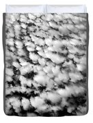 Alltocumulus Cloud Patterns Duvet Cover