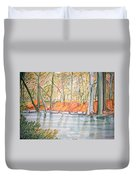 Along The Wissahickon Duvet Cover