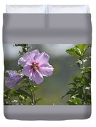 Althea Rose Of Sharon Hibiscus Bloom Duvet Cover