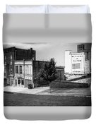 Alton Street In Black And White  Duvet Cover