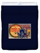 American Express Shipping Duvet Cover