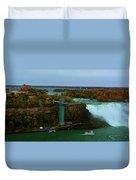American Falls Niagara Duvet Cover