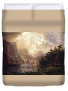 Among The Sierra Nevada, California Duvet Cover