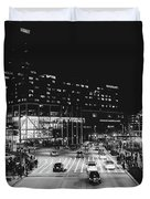 An Evening In Baltimore Duvet Cover