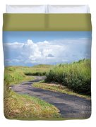 An Inviting Path Duvet Cover