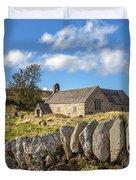 Ancient Welsh Church Duvet Cover