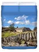 Ancient Welsh Church Duvet Cover
