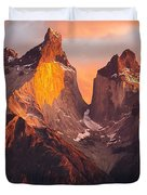 Andes Mountains Duvet Cover