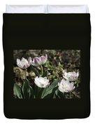 Angelique Peony Tulips Duvet Cover