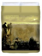 Angels And Brothers Duvet Cover