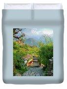 Annapurna Village Duvet Cover