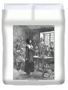 Anne Hutchinson (1591-1643) Duvet Cover