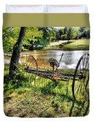 Antique Farm Equipment 1 Duvet Cover