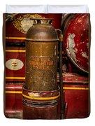 Antique Fire Extinguisher Duvet Cover