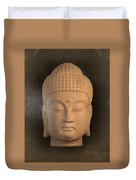 antique oil effect Buddha Korean ,, Duvet Cover