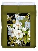 Apple Blossoms 0936 Duvet Cover