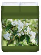 Apple Flowers Duvet Cover