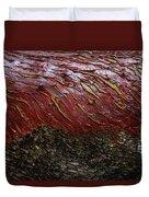 Arbutus Tree Bark Duvet Cover