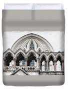 Arches Over The Court Duvet Cover