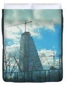 Architectural Skies Duvet Cover