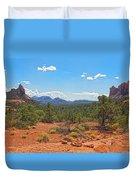 Arizona-sedona-soldier's Pass Trail Duvet Cover