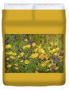 Arizona Wildflowers  Duvet Cover