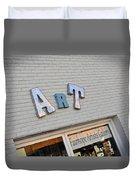 Art On The Wall Duvet Cover