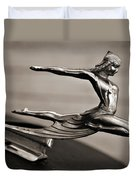 Art Deco Hood Ornament Duvet Cover