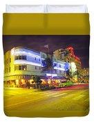 Art Deco In Miami Duvet Cover