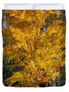 Artistic Fall Colours Duvet Cover