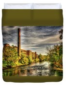 Ashton Mill, Cumberland, Ri Duvet Cover