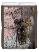 Asian Long-horned Beetle Duvet Cover