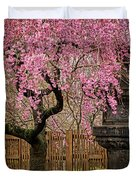 Asian Spring Duvet Cover by Chris Lord