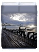 Astoria-megler Bridge 4 Duvet Cover